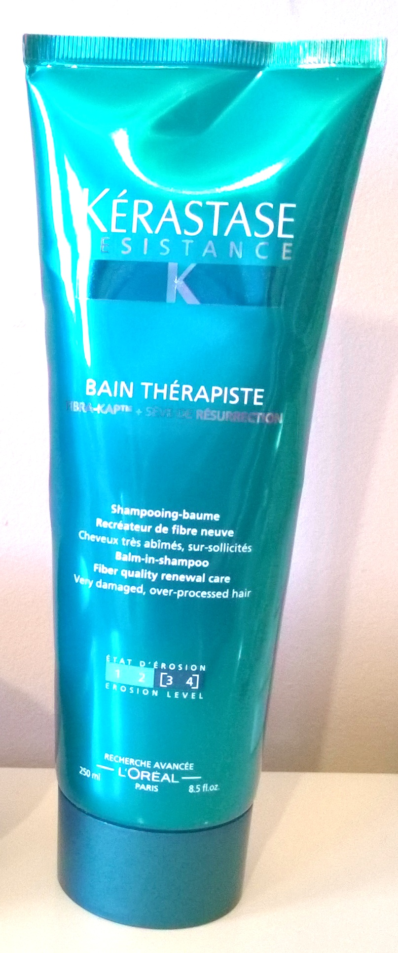 K rastase r sistance th rapiste bain and masque review for Bain miroir 1 kerastase